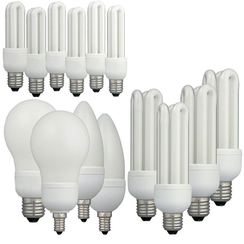 I-Glow Energiesparlampen-Set