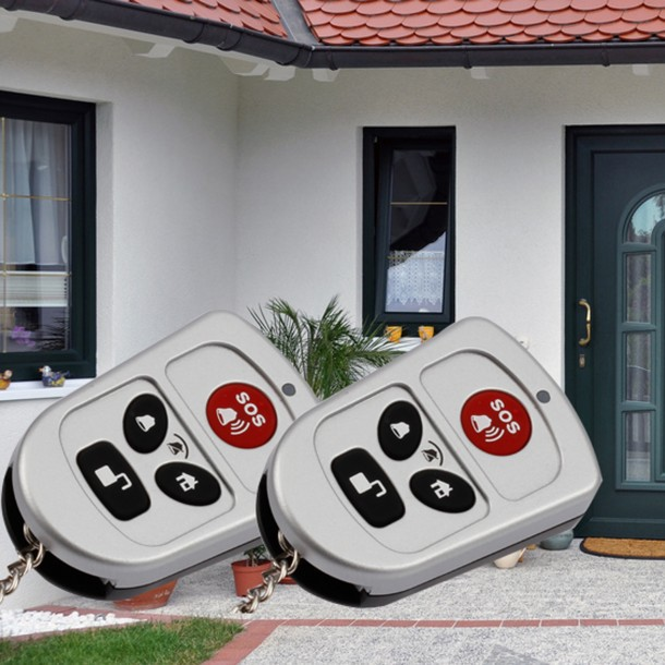 Remote Control Set for Wireless Alarm Systems in the Protect Series