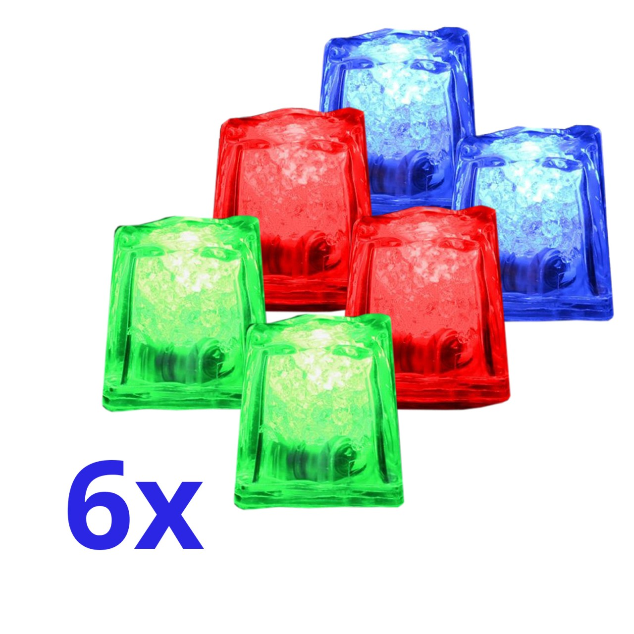 6x LED - Ice Cubes IOIO LED 93