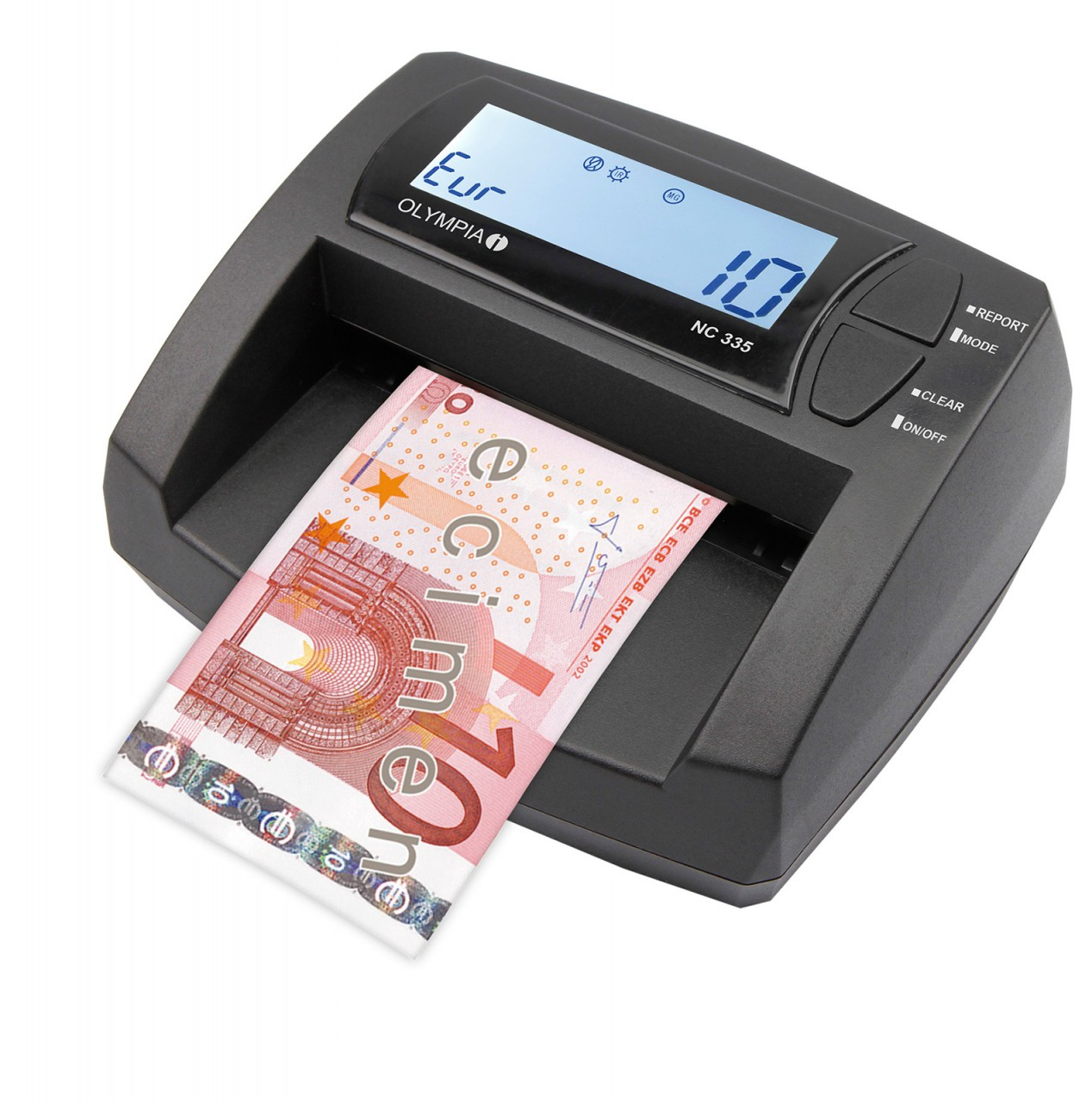 NC 335 Bank Note Counter and Bank Note Testing Device OLYMPIA