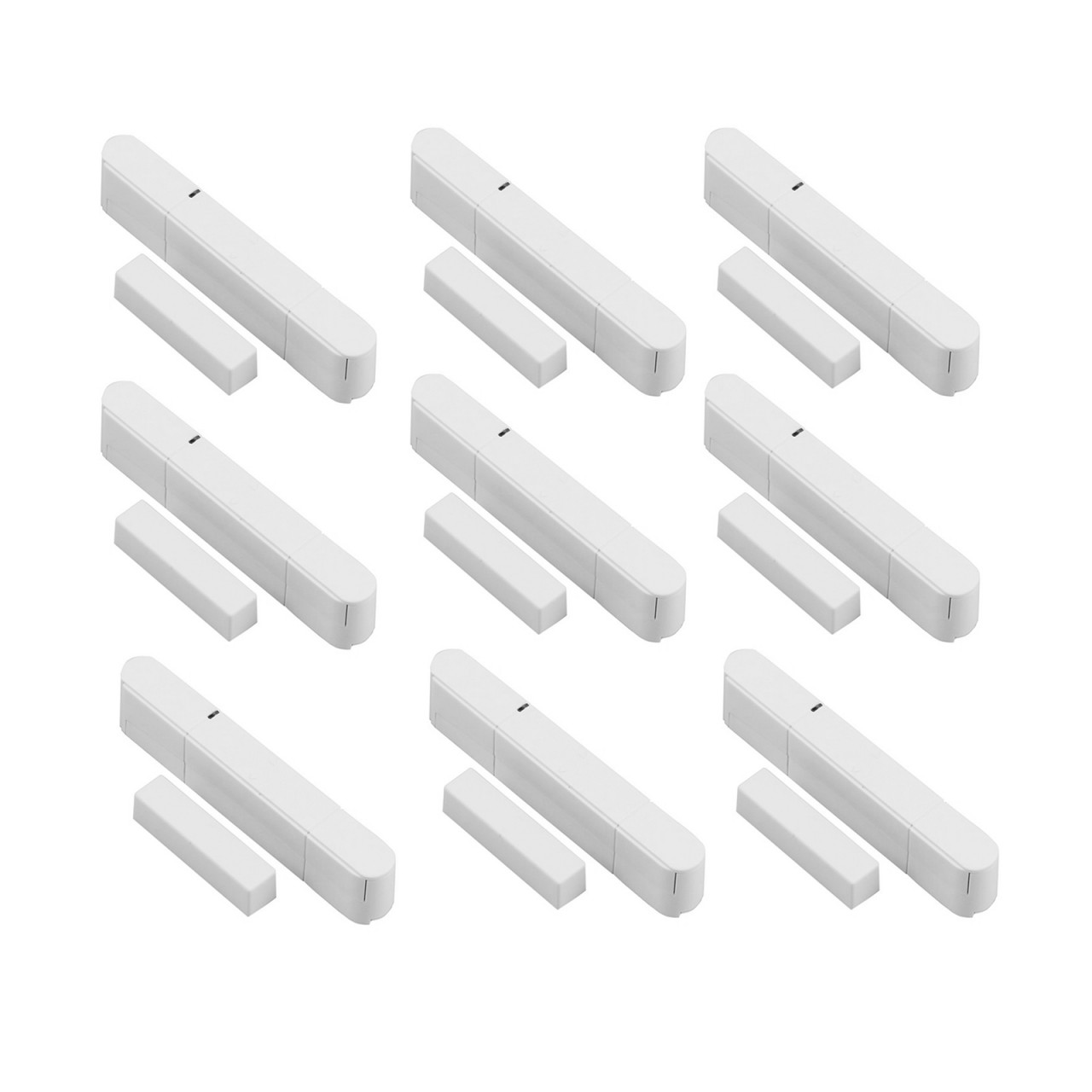 9x Door and Window Sensor for Radio Alarm Systems for OLYMPIA Protect Series 6571  60xx 90xx