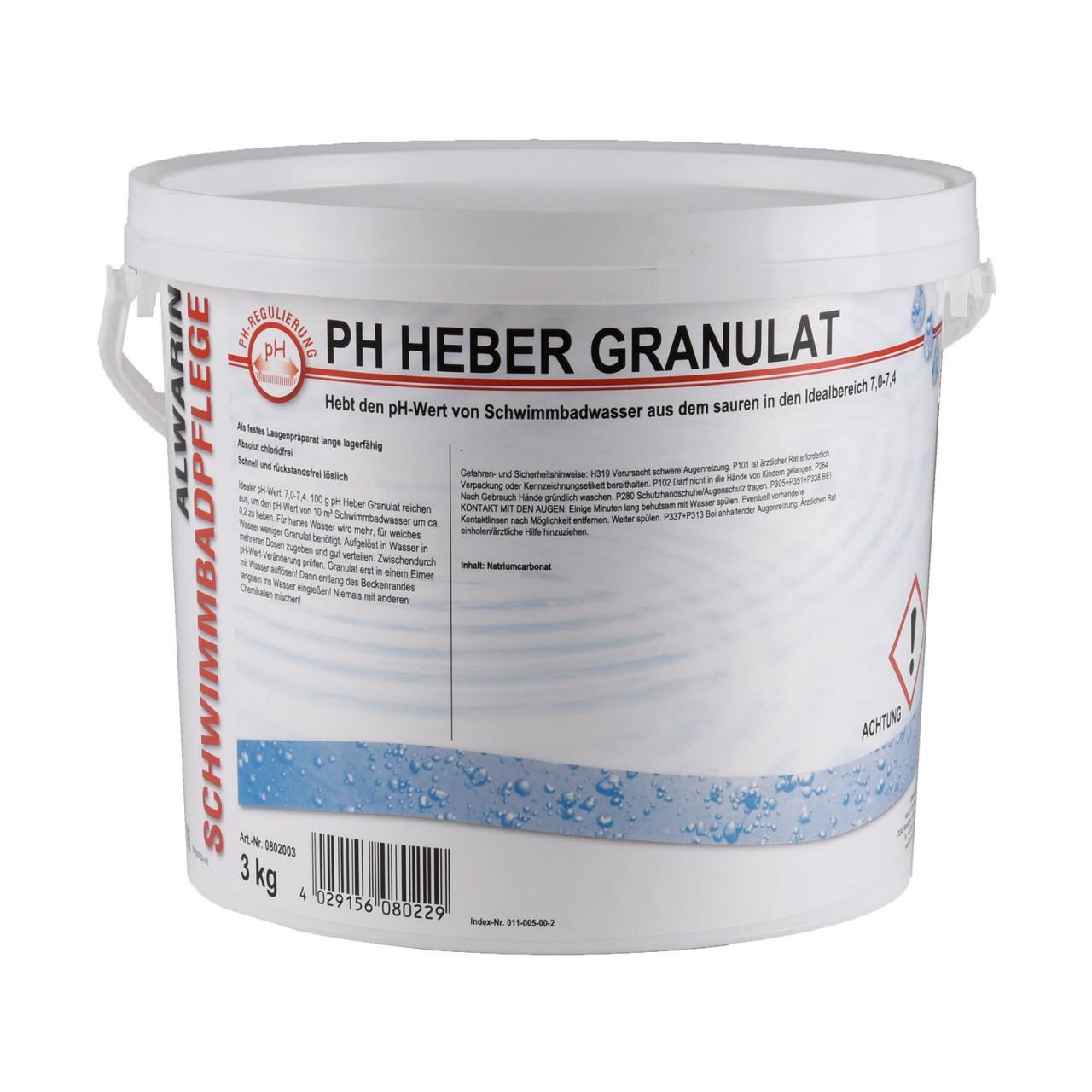 5 66 1kg ph heber ph plus pulver 3 kg made in germany. Black Bedroom Furniture Sets. Home Design Ideas