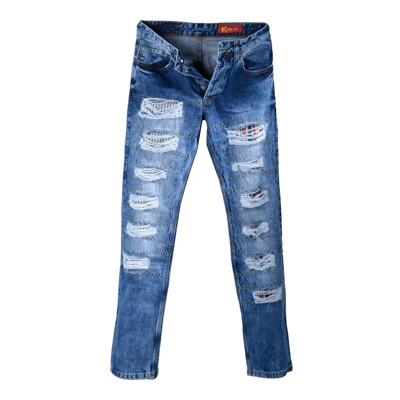 Mens Jeans in Super Used Look