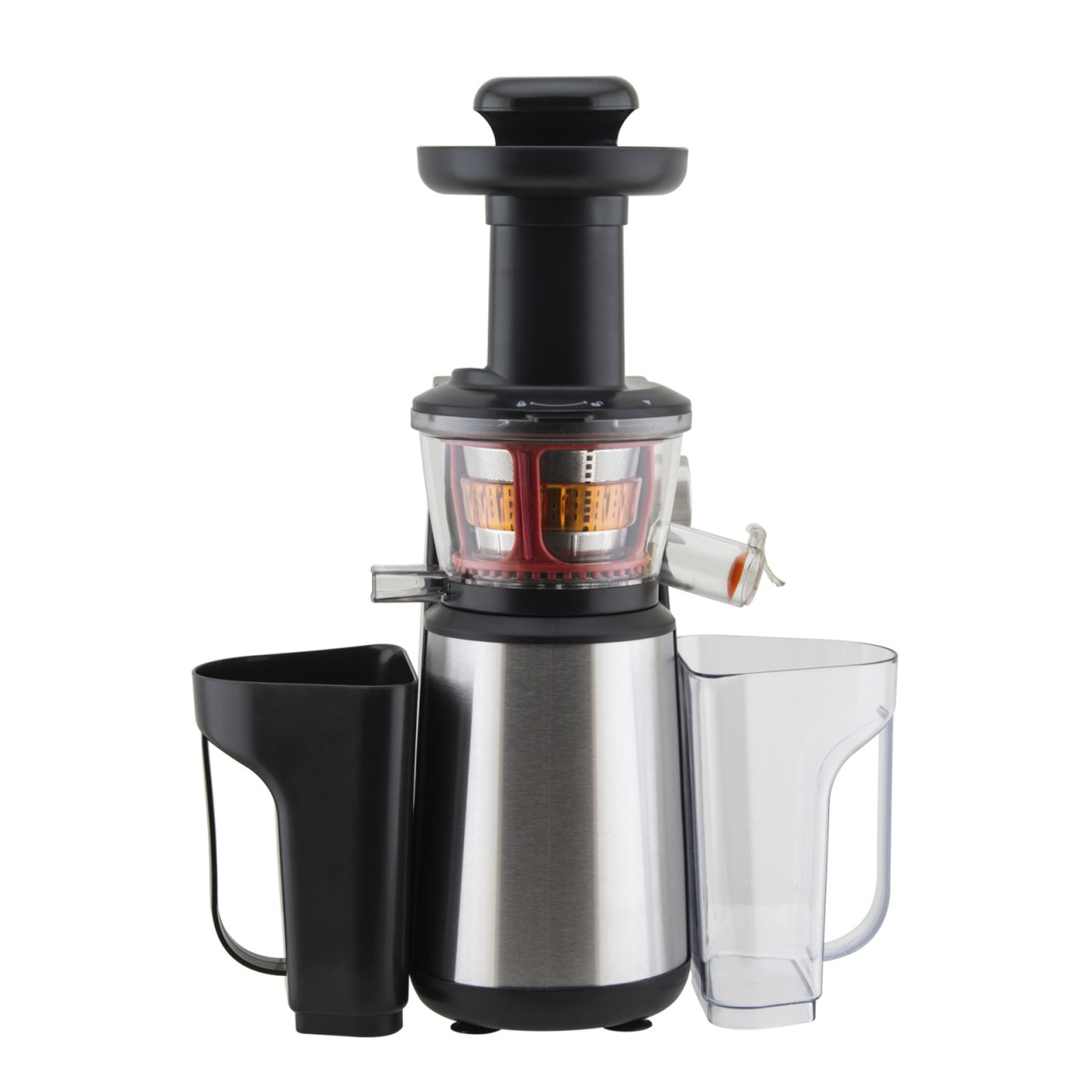 power entsafter slow juicer edelstahl 400watt. Black Bedroom Furniture Sets. Home Design Ideas