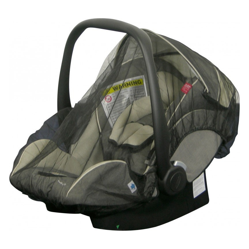 H+H BS 513 Mosquito Net for Child's Car Seat in Black