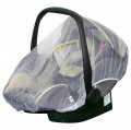 H+H BS 513 Mosquito Net for Child's Car Seat in White 001