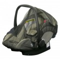 H+H BS 513 Mosquito Net for Child's Car Seat in Black 001