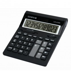OLYMPIA LCD 612 SD Calculatrice