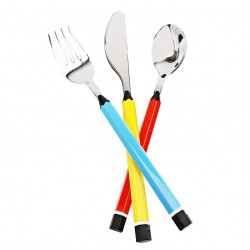 Children design cutlery set 3 pcs. Matite model of Pintinox