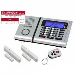 OLYMPIA Protect Alarm System Emergency Set with 2 Emergency Transmitters