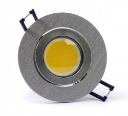 5x 4W Stainless Steel Lamp COB-SMD-LED White