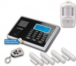 OLYMPIA Protect 9061 GSM Alarm System Set
