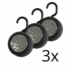 3x LED Universal Assembling Lights with Magnet FL48