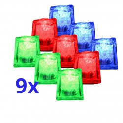 9x LED - Ice Cubes IOIO LED 93