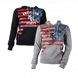 Damen Hoodie Sweatshirt UNCLE SAM