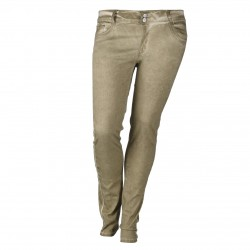 Damen Jeans Straight Fit CAMEL