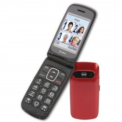 Olympia Primus Senioren Comfort Mobile Phone with big buttons in Red