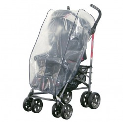 H+H BS 503 Rain Cover for Buggies with Cape Hood Universal Rain Protection