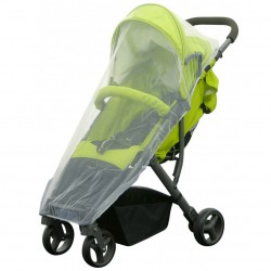 H+H BS 507 Mosquito Net for Jogger's Buggy in White
