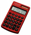 OLYMPIA LCD 1110 calculatrice, rouge 001
