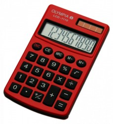 OLYMPIA LCD 1110, Red