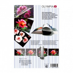 OLYMPIA Lamination Pouches, A4, A5, A6, Business Cards - 80 Micron
