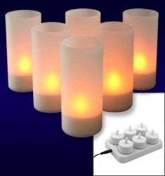 IOIO 6er Tealight set Pro 6 LED 35