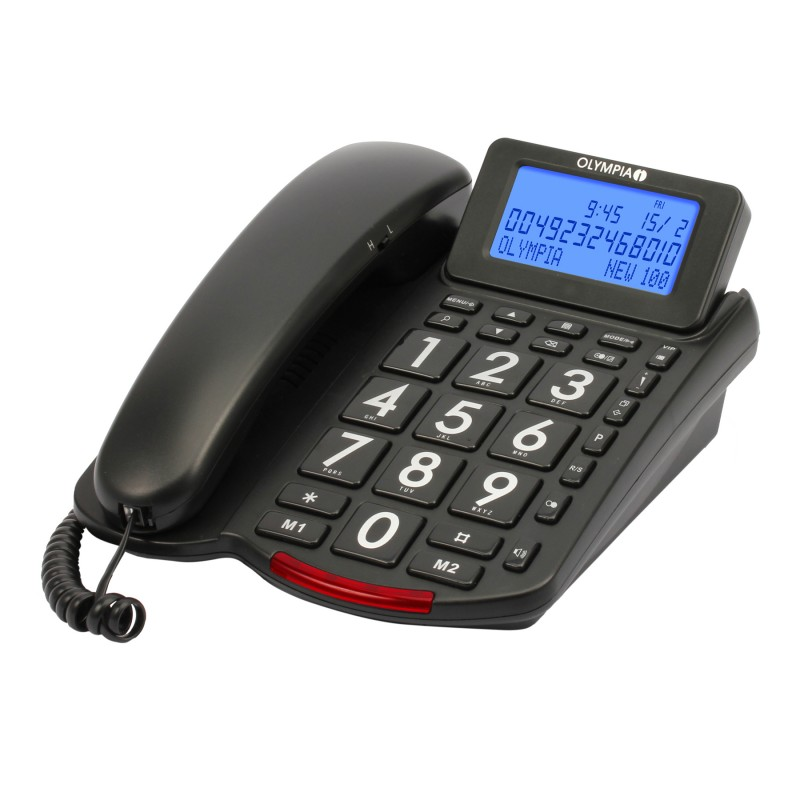 OLYMPIA Big Button Comfort Phone, Model 4210