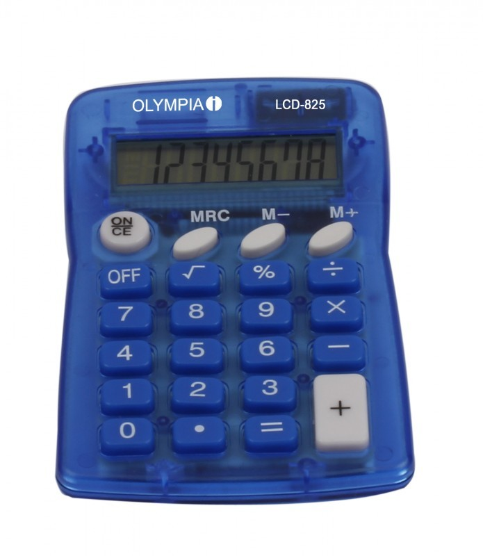 OLYMPIA Calculatrice LCD 825