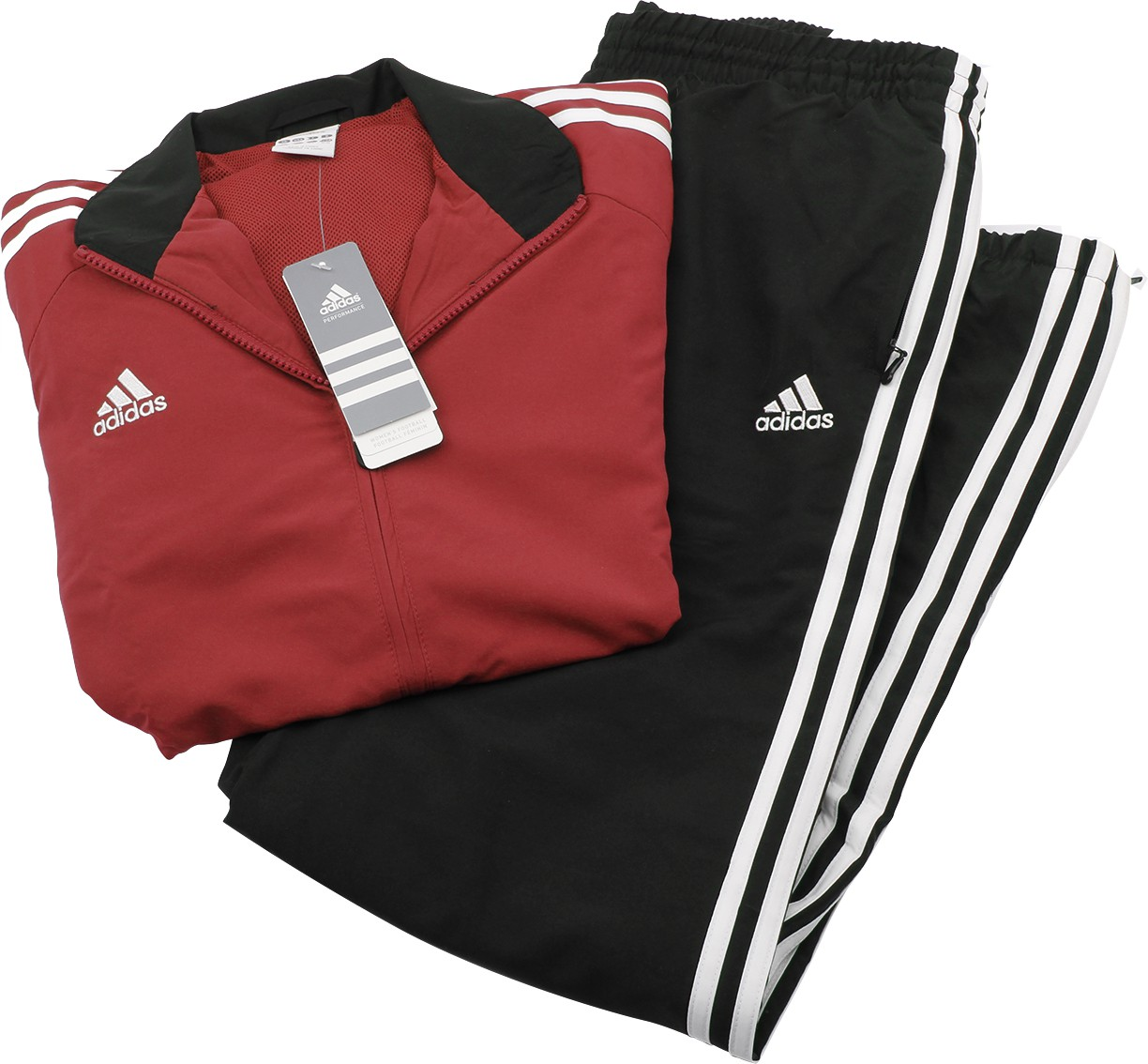 adidas damen pr sentationsanzug tiro11 rot gr xs. Black Bedroom Furniture Sets. Home Design Ideas